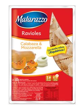 Ravioles Calabaza & Mozarella