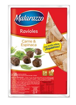 Ravioles Carne & Espinaca