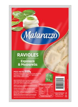 Ravioles Espinaca & Mozarella